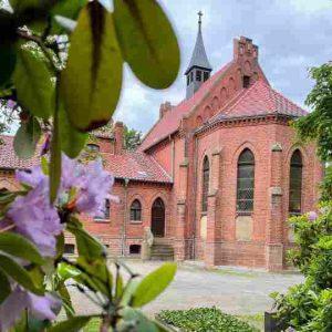 Kapelle auf den Friedhof Haldensleben